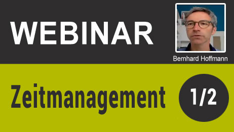 Webinar -  Zeitmanagement (1/2)