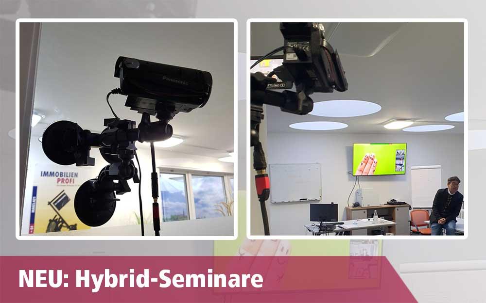 Neu: Hybrid Seminare
