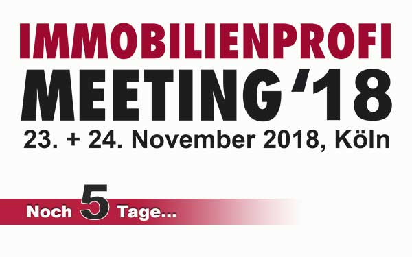 Das IMMOBILIENPROFI-Meeting 2018