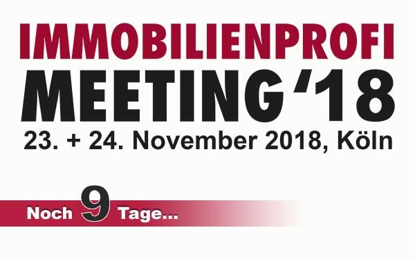 Das IMMOBILIENPROFI-Meeting 2018