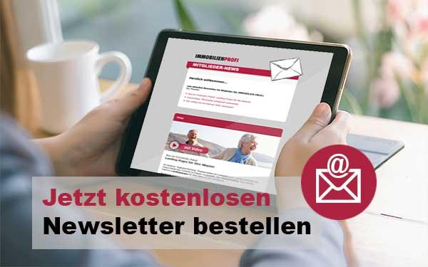 Kostenlosen Newsletter bestellen