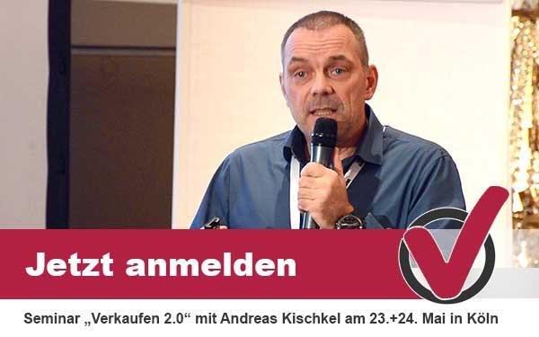 Seminar Verkaufen 2.0 am 23.+24. Mai in Köln
