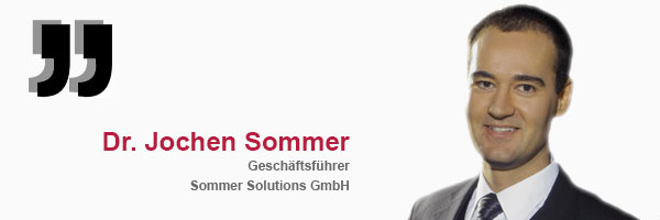 Referenz Dr. Jochen Sommer