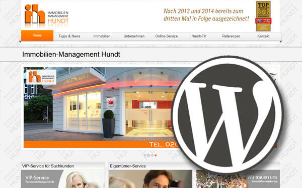"""The big beast"" – Mit WordPress Immobilien verkaufen"