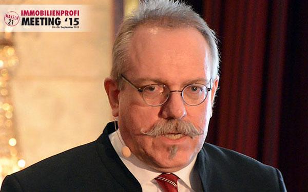 Dr. Peter Hettenbach beim Meeting2015