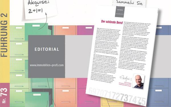 Editorial Ausgabe 73