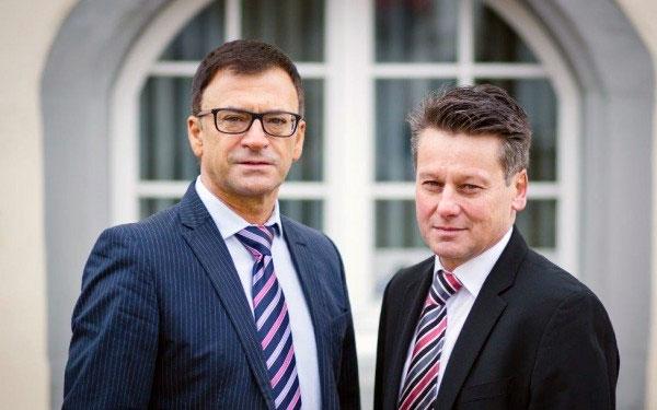 Frank Renz und Bernd Wackershauser