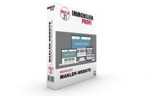 Die Makler-Webiste im Shop