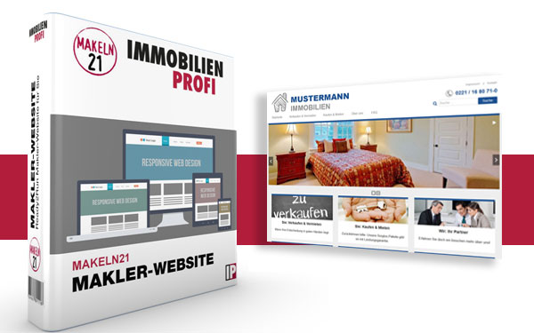 Makler-Website