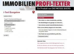 IP-Texter - Frage und Optionen