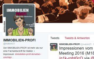 IMMOBILIEN-PROFI auf Twitter